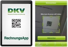dkv apps rechnungsapp dkv. Black Bedroom Furniture Sets. Home Design Ideas